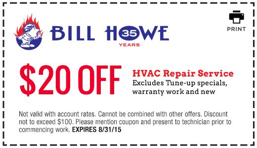 Bill Howe_HVAC Repair_Coupon 8_31_15