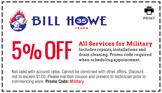 Bill Howe_Military Discount_Coupon
