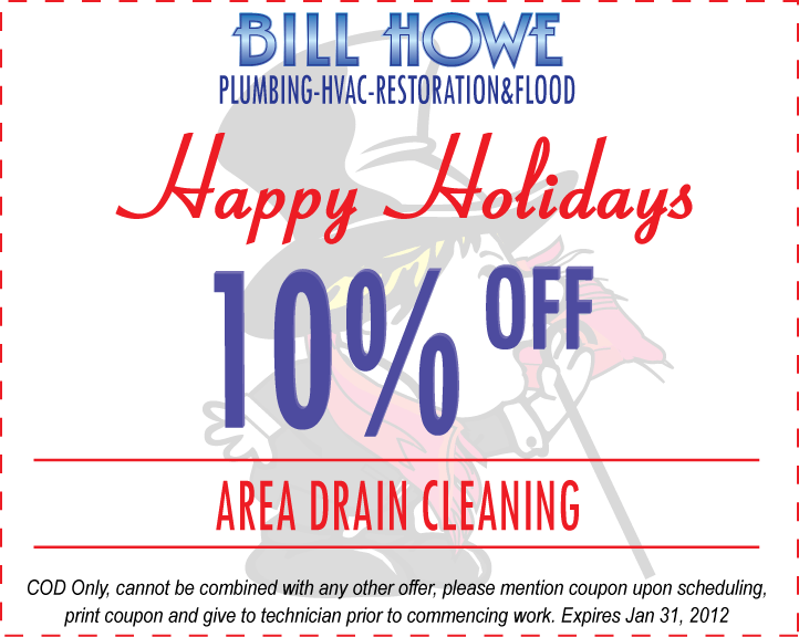 Bill Howe Christmas Holiday 2011 Coupon