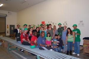 St Patrick's Day at SD Food Bank