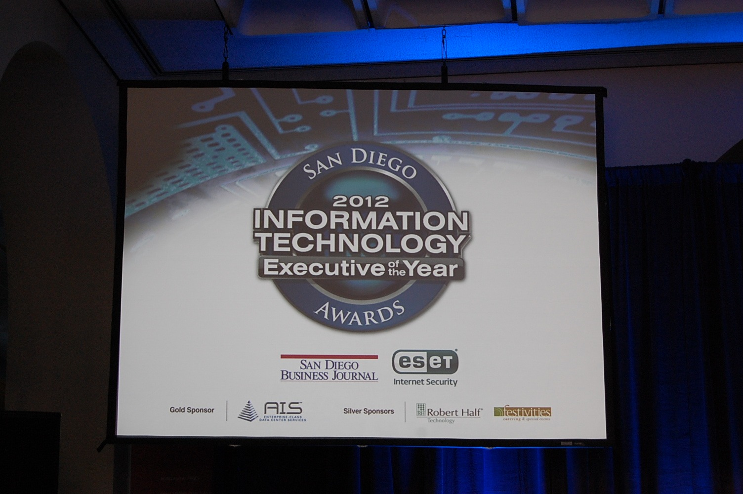 2012 Information Technology Executive of the Year