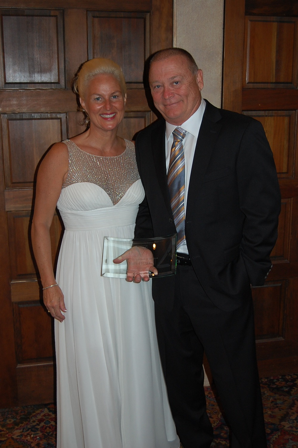 Bill Howe of Bill Howe Plumbing wins Business Leader of the Year Award