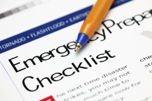 Plumbers in San Diego recommended earthquake shutoff valve emergency checklist