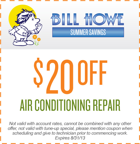 Bill Howe Air Conditioning Coupon