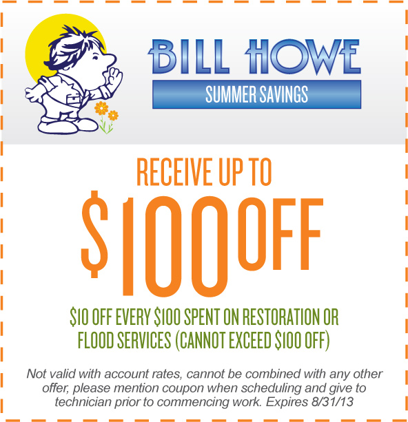 Bill Howe Restoration Coupon