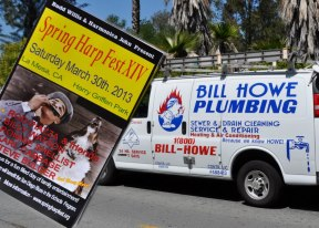 Bill Howe Plumbing Sponsors Spring Harpfest