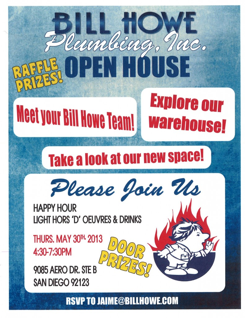 Bill Howe Open House