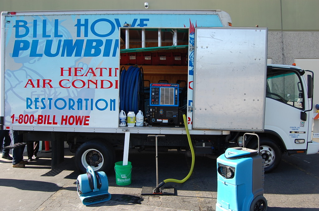 bill howe restoration truck and technology