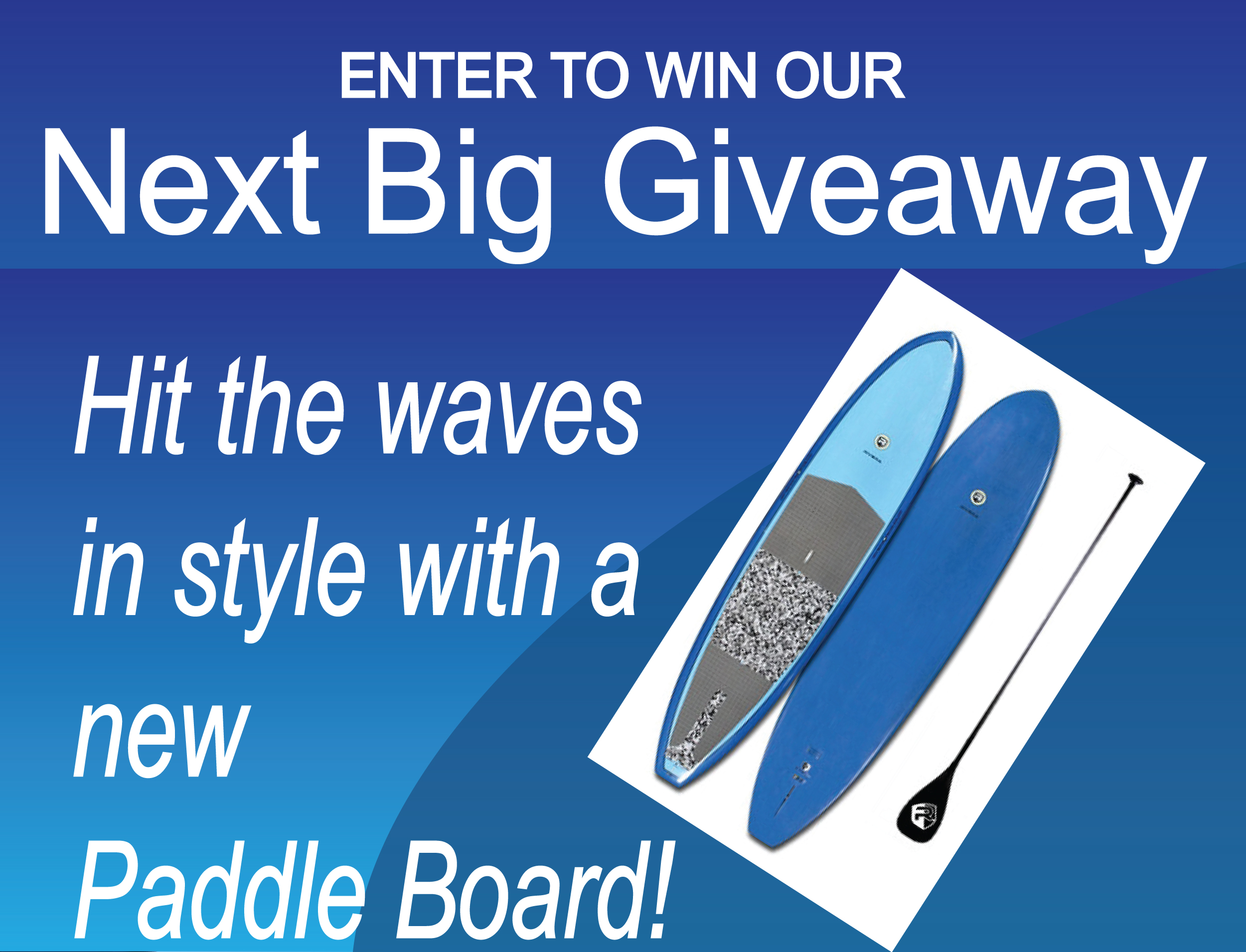 Enter to win our Next Big Giveaway
