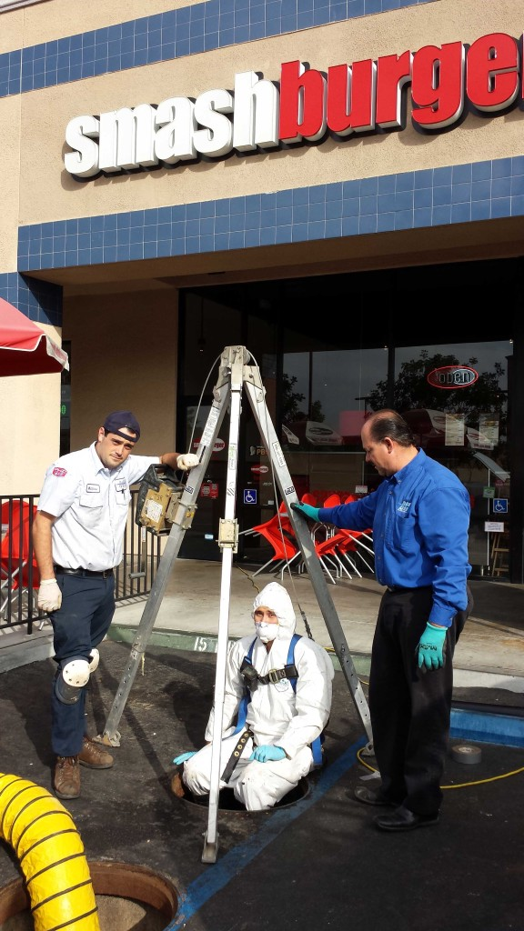 san diego plumbers in action