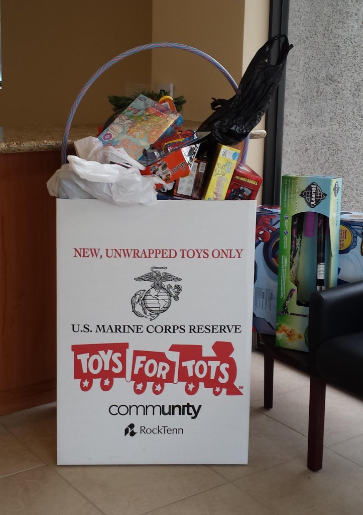 bill howe plumbing, san diego toys for tots drop-off