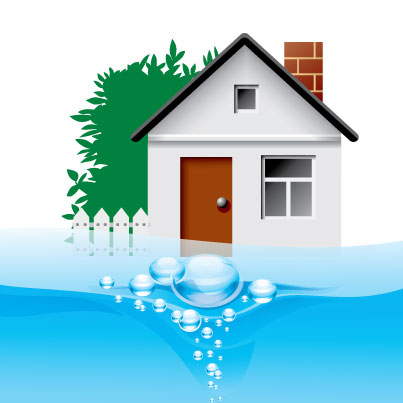 water flooding home