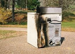 bill howe warns of dryer fire dangers