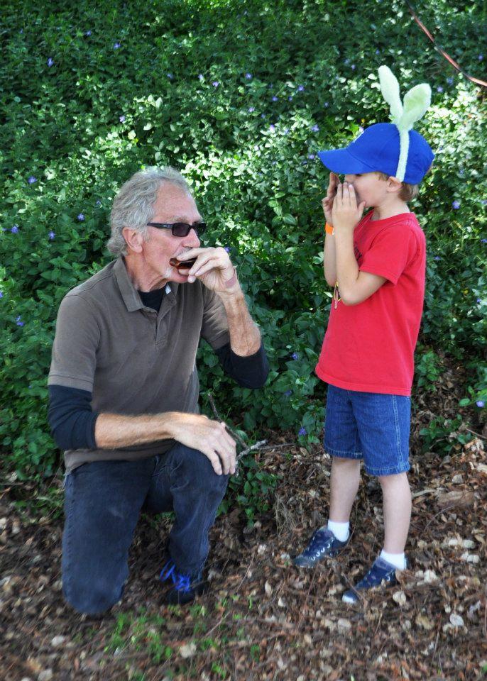 tom safreed, bill howe plumber, teaches harmonica at spring harp fest 2013