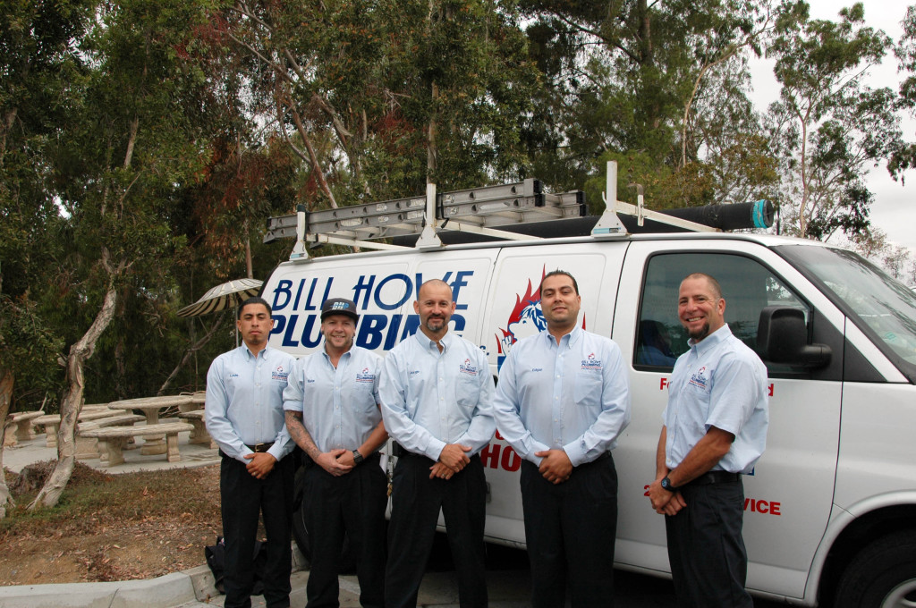 bill howe plumbign team leaders