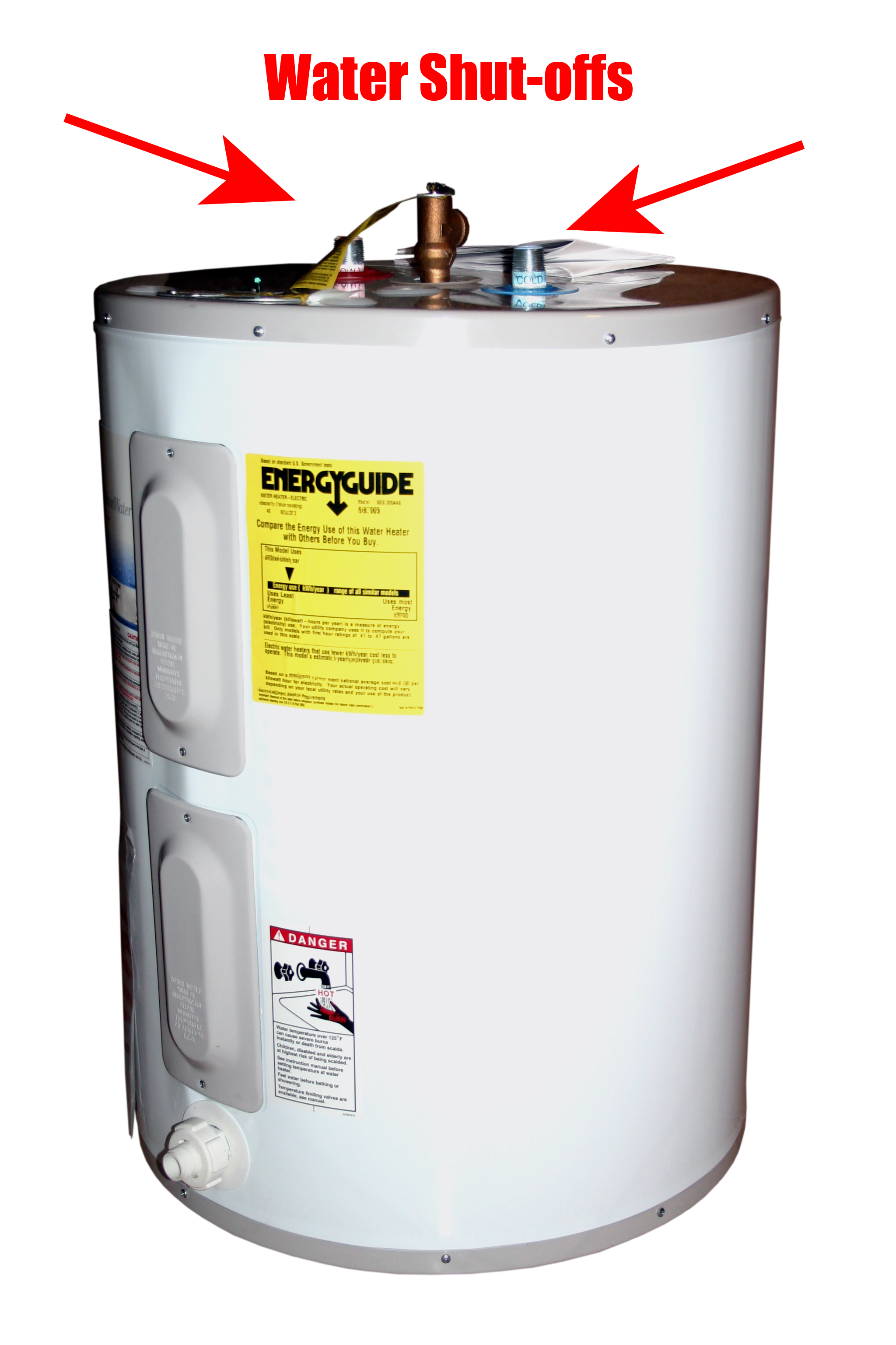 Emergency Water Heater Shutdown