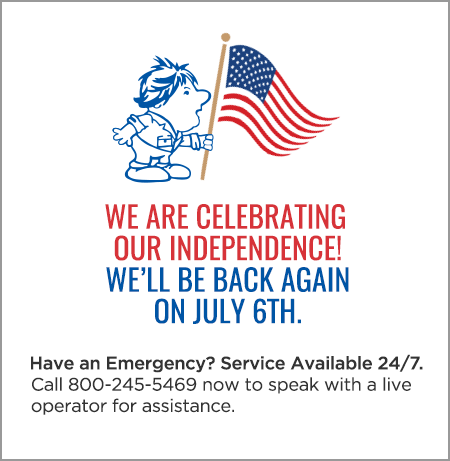 We are celebrating our independence! We will be back again on July 6th.