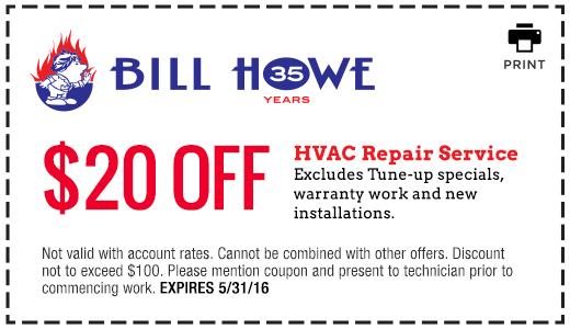 Bill Howe_HVAC Repair_Coupon 5_31_16