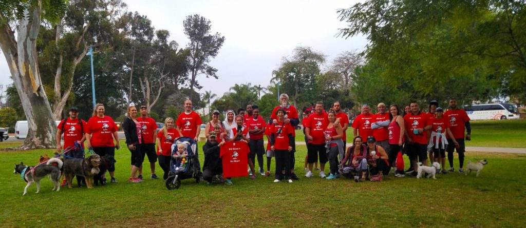 san diego's best plumber hosts over 30 of its team and family at the 25th annual heart walk in balboa park