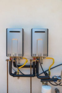 Tankless Water Heaters Save SPace