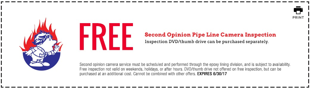 Bill Howe_Second Opinion Camera Inspection_Coupon 6_30_17