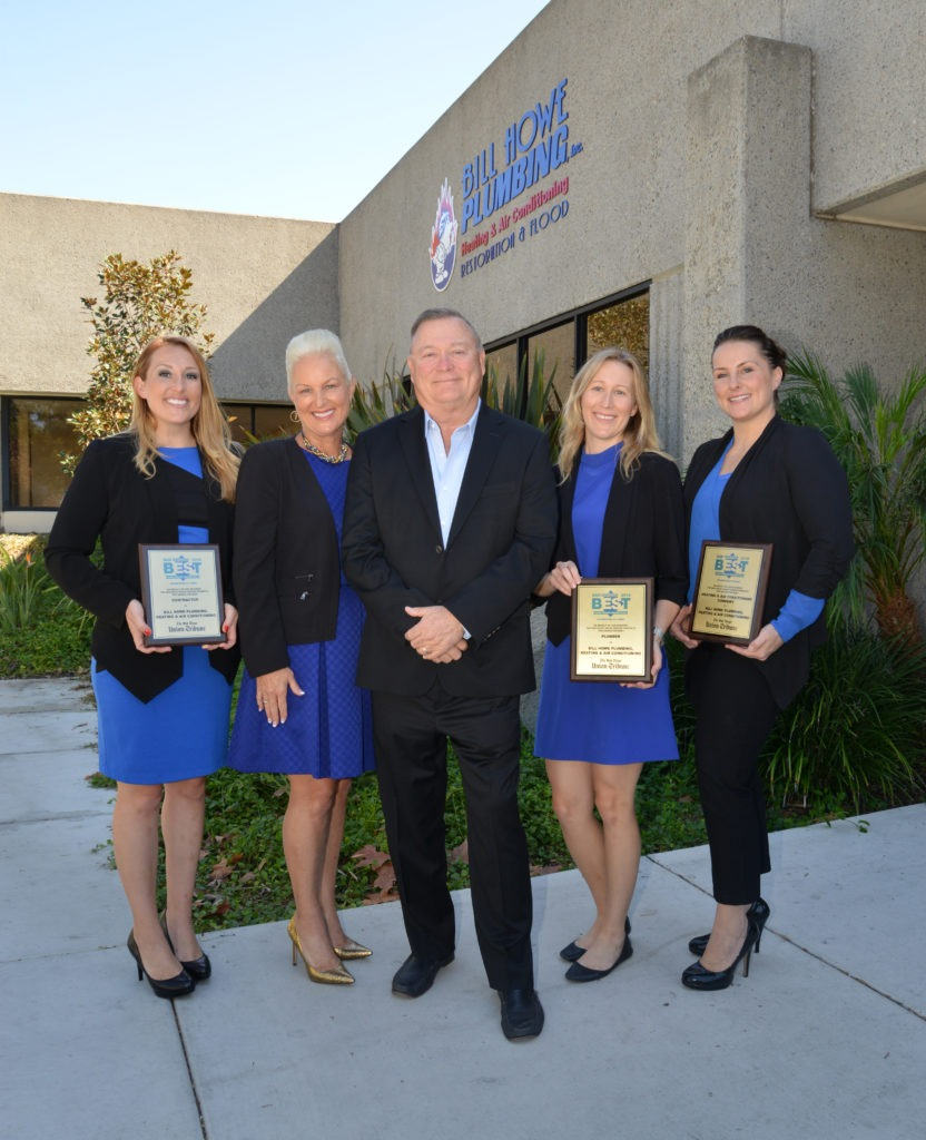 bill howe plumbing, heating & air, restoration & flood voted best of san diego