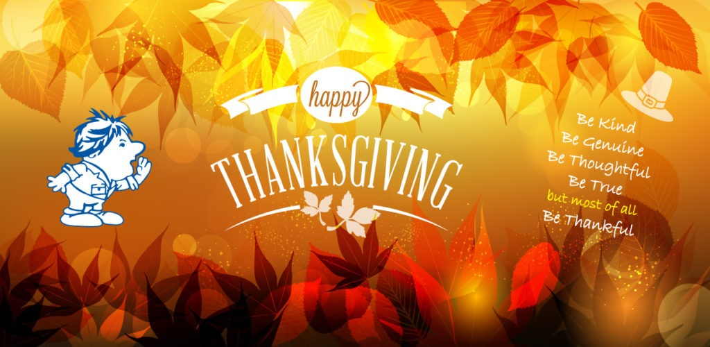 happy thanksgiving from bill howe plumbing san diego