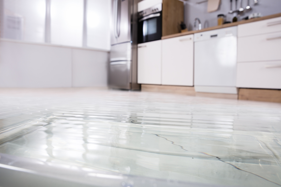 what causes a slab leak?