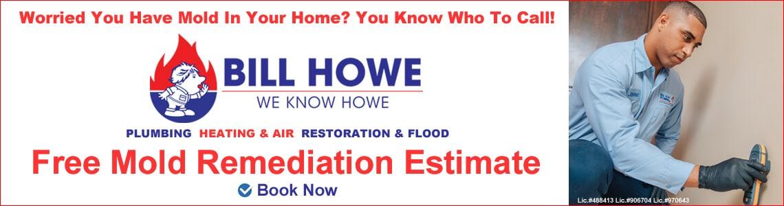Free Mold Remediation Estimate Bill Howe Resoration and Flood